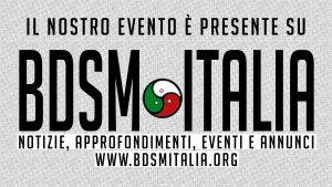 Il nostro evento è presente su BDSM ITALIA